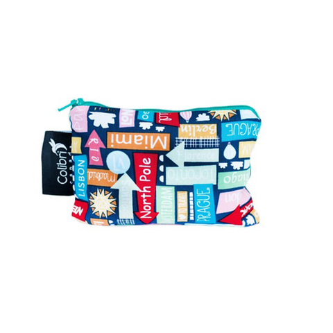 Colibri Small Reusable Snack Bag - Destination