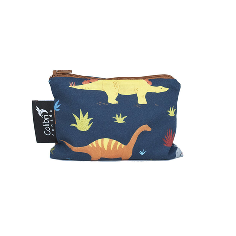 Colibri Small Reusable Snack Bag - Dinosaurs