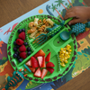 Constructive Eating: Dino SET (Plate & Utensils)