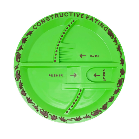 Constructive Eating: Dino Plate