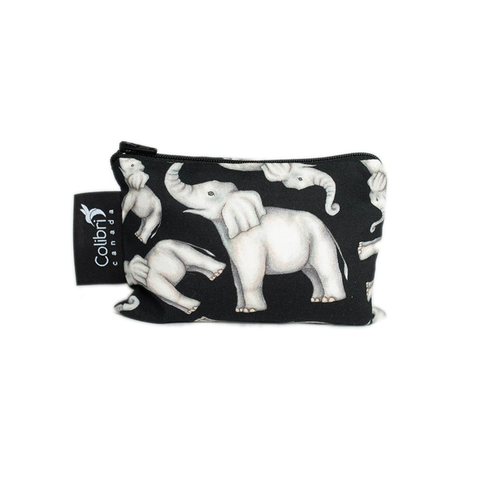 Colibri Small Reusable Snack Bag - Elephant