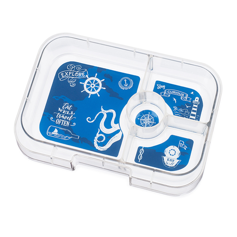 Yumbox Extra Tray: 4 Compartments, Explore theme