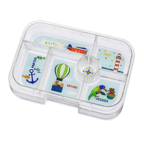 Yumbox Extra Tray: 6 Compartments, Explore theme