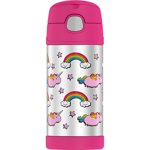 Thermos 12 oz FUNtainer Bottle: Unicorn