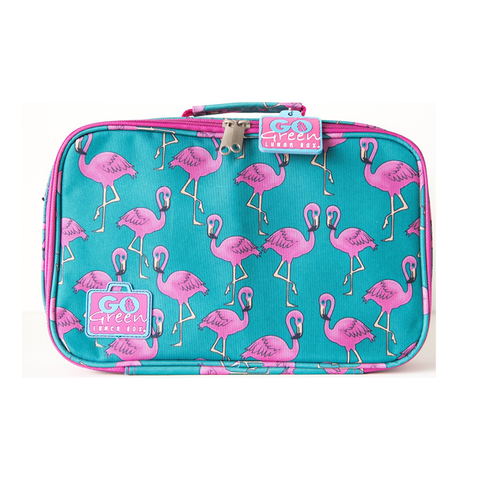 Go Green Insulated Carrying Case: Flamingo
