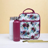 MontiiCo Insulated Lunch Bag (Ice Pack incl.) - FLORAL