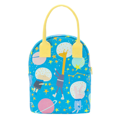 Fluf ASTRO PARTY Zipper Lunch Bag