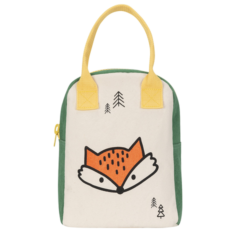 Fluf FOX Zipper Lunch Bag