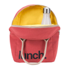 Fluf LUNCH RED Zipper Lunch Bag