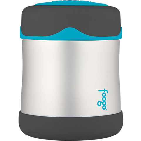 Foogo Thermos Vacuum Insulated Stainless Steel Food Jar: Charcoal