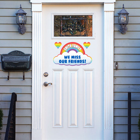 Friendship Rainbow Decal