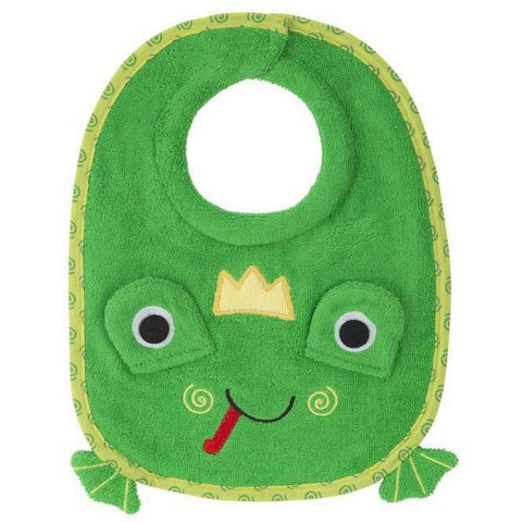 Zoocchini Baby Bib: Floppy the Frog