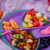 Constructive Eating: Garden SET (Plate & Utensils)