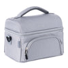 Bentgo Deluxe Insulated 2-Compartment Lunch Tote - Grey