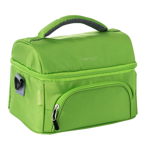 Bentgo Deluxe Insulated 2-Compartment Lunch Tote - Green