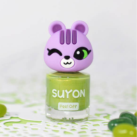 Suyon Pearl Green Happy Arong Nail Polish