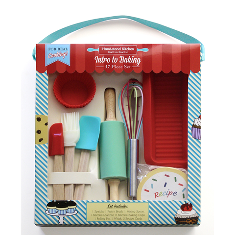 Handstand Kitchen Intro to Baking Set (17 Pieces)