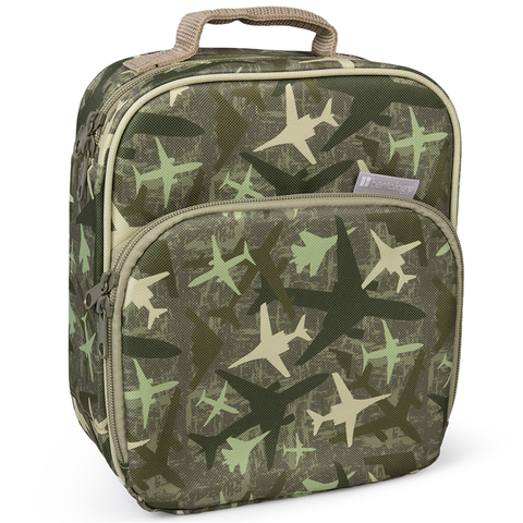 Bentology Insulated Lunch Tote: Jets