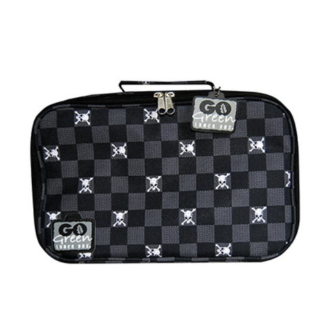 Go Green Insulated Carrying Case: Jolly Roger