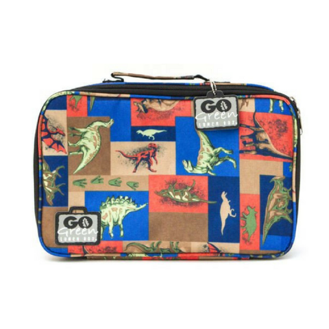 Go Green Insulated Carrying Case: Jurassic Party - Dino