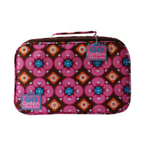 Go Green Insulated Carrying Case: Kaleidoscope