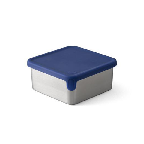 Big Square Dipper (12.3oz) for PlanetBox Launch and Shuttle: Dark Blue