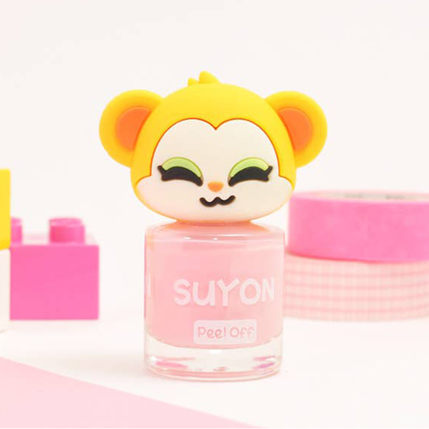 Suyon Light Pink Funny KoKo Nail Polish