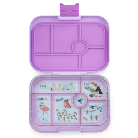 Yumbox: Lila Purple (6 Compartments)