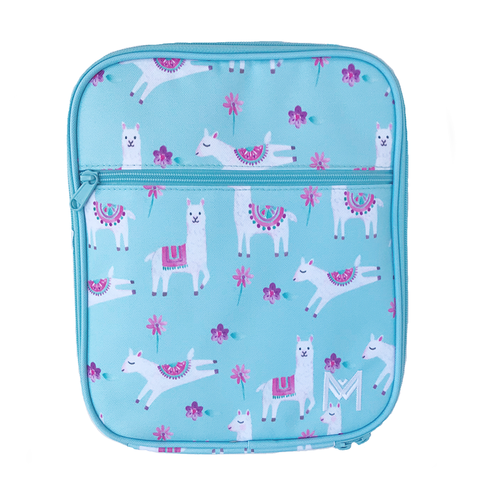 MontiiCo Insulated Lunch Bag (Ice Pack incl.) - LLAMA