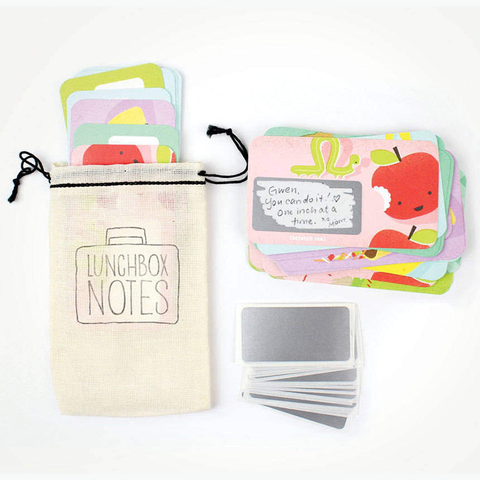 Inklings Paperie Scratch-off Lunchbox Notes - Edition 2