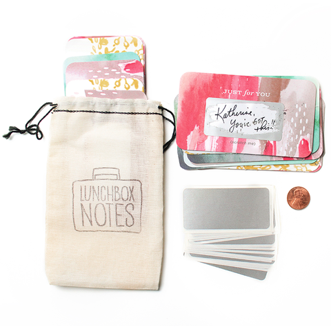 Inklings Paperie Scratch-off Lunchbox Notes - Edition 3