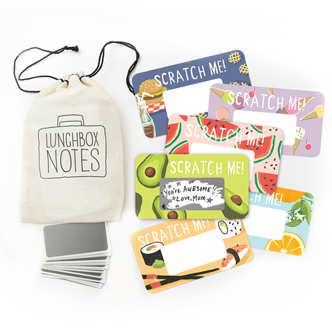 Inklings Paperie Scratch-off Lunchbox Notes - Edition 5