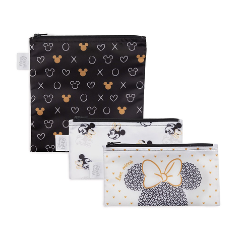 Bumkins Reusable Snack Bags (3 pack): Love, Minnie