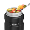 Thermos SS King 16 Oz Food Jar & Spoon - Matte Black