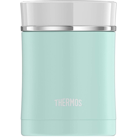Thermos Sipp 16 Oz Stainless Steel Food Jar - Matte Turquoise