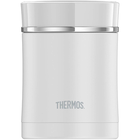 Thermos Sipp 16 Oz Stainless Steel Food Jar - White