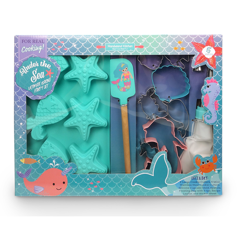 Handstand Kitchen Ultimate Mermaid Baking Set (15 Pieces)