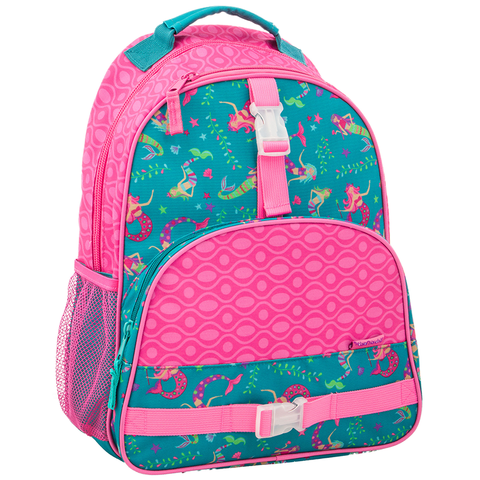 Stephen Joseph All Over Print Mermaid Backpack
