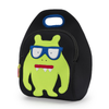 Dabbawalla Green Monster Geek Washable Lunch Bag