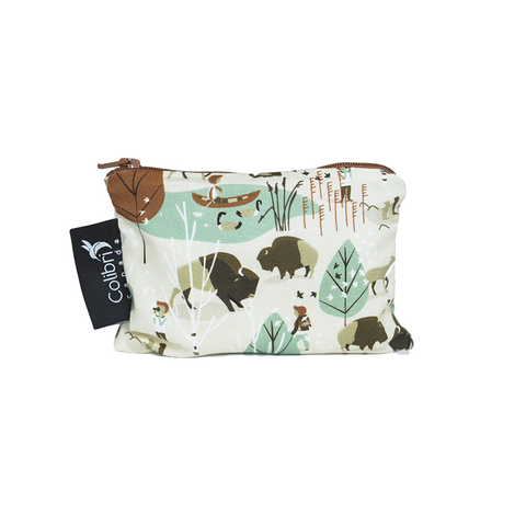 Colibri Small Reusable Snack Bag - Nature Walk