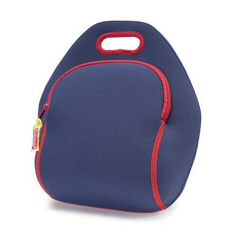 Dabbawalla Navy Block Washable Lunch Bag