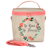 SoYoung Large Cooler Bags: No Rain No Flowers