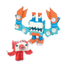 Magnote Piperoid Octo & Deca Paper Craft - Mischievous Octopus & Crab
