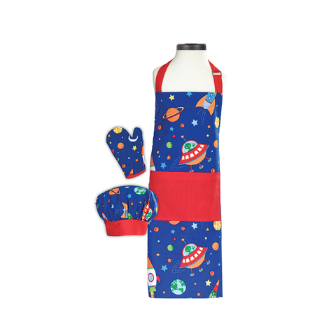 Handstand Kitchen Deluxe Baking Outfit for Children (Boxed Set): Out of this World