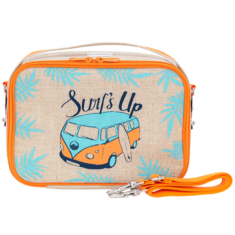 SoYoung/Yumbox Tapas-Sized Lunch Box: ORANGE Surf's Up!