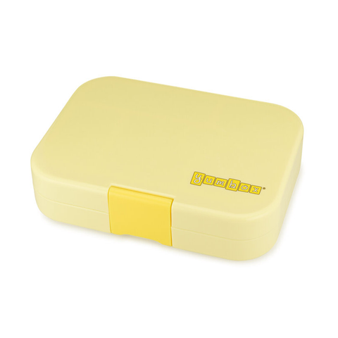 Yumbox Outer Box Only: Sunburst Yellow Original (6 Compartments)