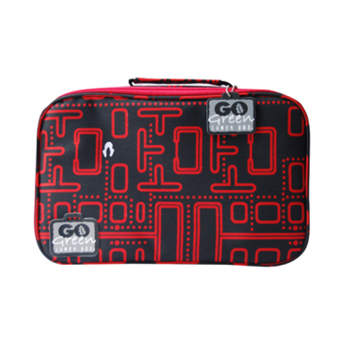 Go Green Insulated Carrying Case: Packman