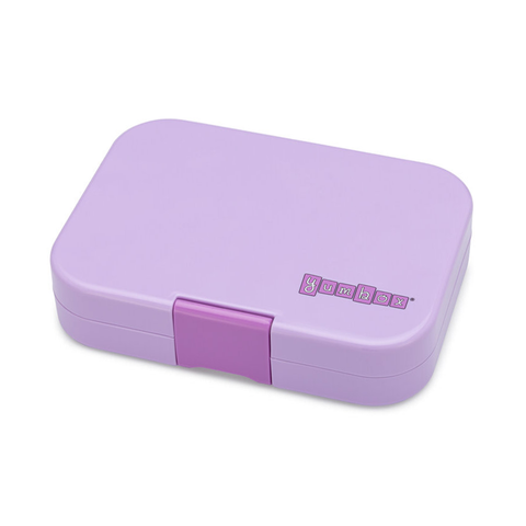 Yumbox Outer Box Only: Lila Purple Panino (4 Compartments)