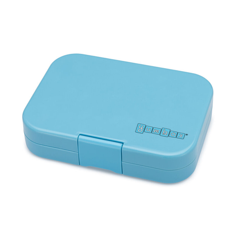 Yumbox Outer Box Only: Nevis Blue Panino (4 Compartments)