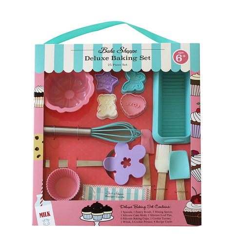 Handstand Kitchen Deluxe Pastel Baking Set (25 Pieces)